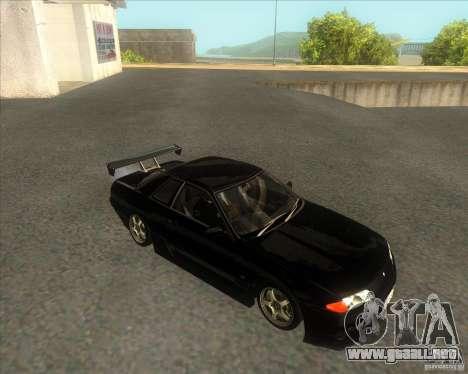 Nissan Skyline R32 GTS-T type-M para la visión correcta GTA San Andreas