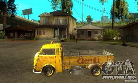 Tempo Matador 1952 Bus Barn version 1.1 para GTA San Andreas left