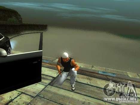 Chico en FBI 2 para GTA San Andreas sucesivamente de pantalla