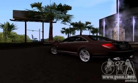 Mercedes-Benz CL65 AMG E.U. para GTA San Andreas left