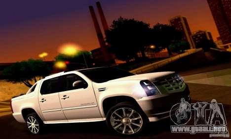 Cadillac Escalade Ext para la visión correcta GTA San Andreas