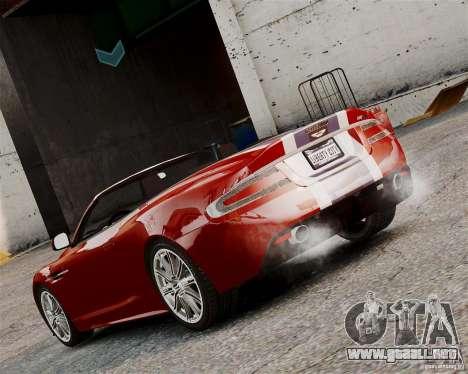 Aston Martin DBS Volante 2010 v1.5 Bonus Version para GTA 4 visión correcta