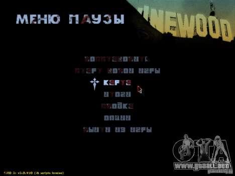 Maldito texto para GTA San Andreas