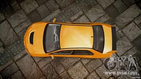 Mitsubishi Lancer Evolution VIII para GTA 4 interior