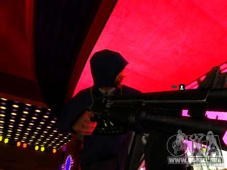 New Weapons para GTA San Andreas tercera pantalla