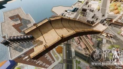 Bike Challenge track + Huge Ramp para GTA 4 tercera pantalla