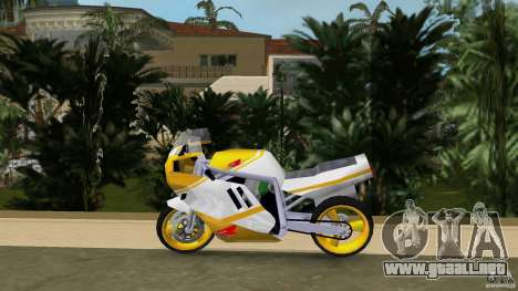 Suzuki GSX-R 750 1989 para GTA Vice City left