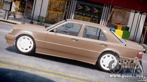 Mercedes-Benz W124 E500 1995 para GTA 4 left