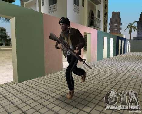 Niko Bellic en orejeras para GTA Vice City segunda pantalla