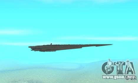 Executor Class Stardestroyer para visión interna GTA San Andreas