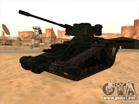 Tanque desde el juego TimeShift para GTA San Andreas