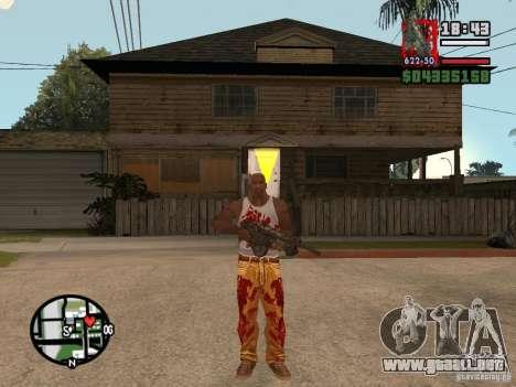BulletStorm M4 para GTA San Andreas segunda pantalla