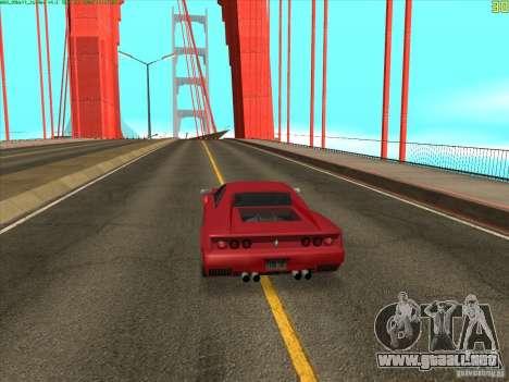 Takomskij Bridge (puente de Tacoma Narrows) para GTA San Andreas tercera pantalla