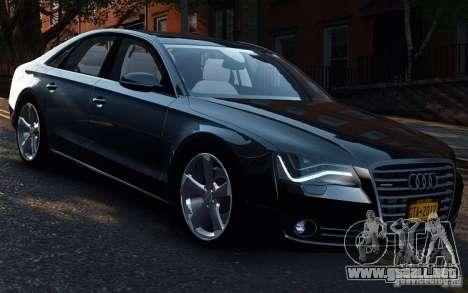 Audi A8 2010 V8 FSI para GTA 4