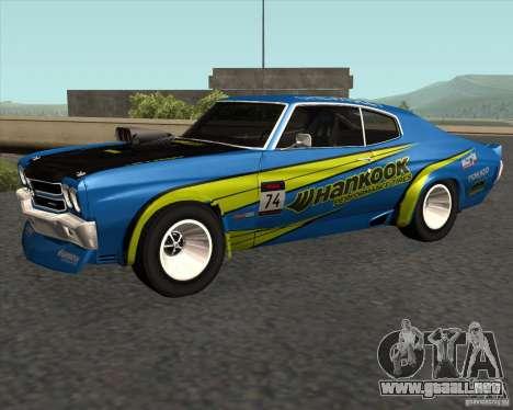 Chevrolet Chevelle SS 1970 para GTA San Andreas