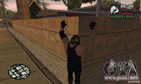 El empresario de pompas fúnebres de Smackdown 2 para GTA San Andreas quinta pantalla