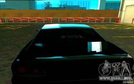 Enbseries cualitativa para GTA San Andreas segunda pantalla