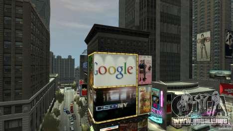 Time Square Mod para GTA 4 sexto de pantalla