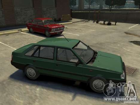 FSO Polonez para GTA 4 vista desde abajo