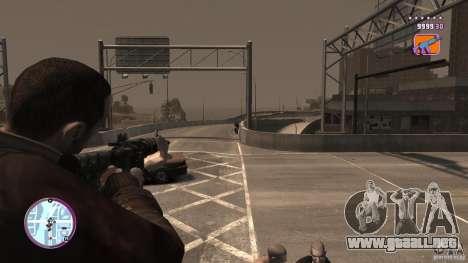 VC estilo Radar/HUD (2 pieles) para GTA 4 sexto de pantalla
