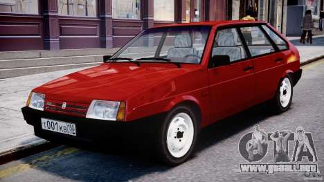 Vaz-21093i para GTA 4 left