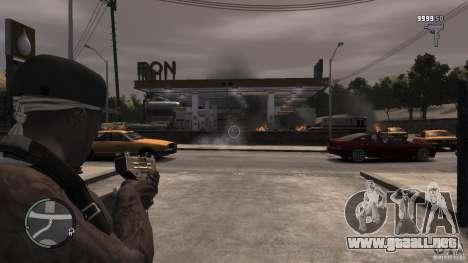 50 Cent para GTA 4 adelante de pantalla