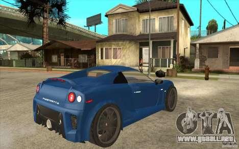 Mastretta MXT v1.1 para la visión correcta GTA San Andreas
