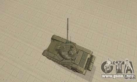 Tanque t-72B para la visión correcta GTA San Andreas