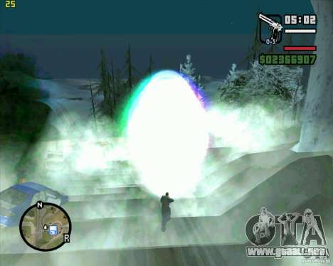 Masterspark para GTA San Andreas segunda pantalla