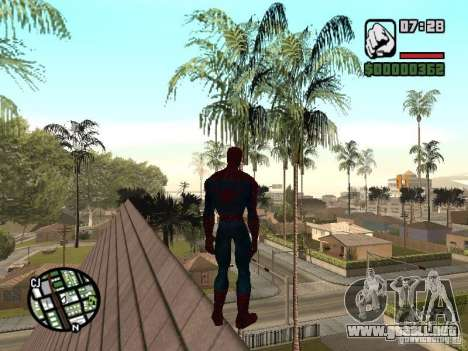 Spider Man From Movie para GTA San Andreas séptima pantalla
