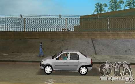 Dacia Logan 1.6 MPI para GTA Vice City left