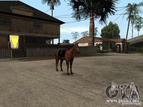 Caballo para GTA San Andreas séptima pantalla