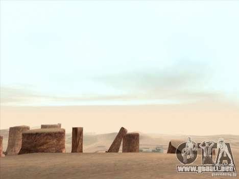 Un realista Timecyc para GTA San Andreas quinta pantalla