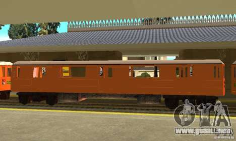 Liberty City Train CP para GTA San Andreas left