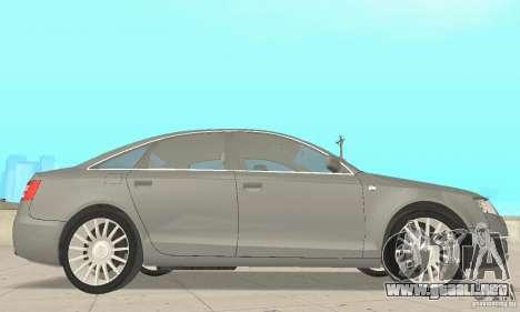 Audi A6 3.0 TDI quattro 2004 para la visión correcta GTA San Andreas
