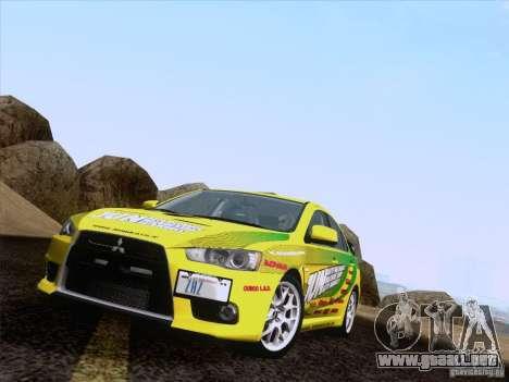 Downhill Drift para GTA San Andreas sexta pantalla