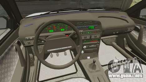 Vaz-2114 drenaje para GTA 4 vista lateral
