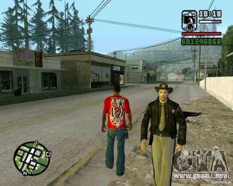 Nuevo Sheriff para GTA San Andreas