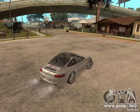 Porsche 911 TARGA para visión interna GTA San Andreas