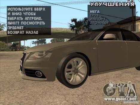 Clavijero en cualquier lugar para GTA San Andreas tercera pantalla