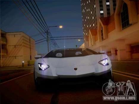 Lamborghini Aventador LP700-4 Roadstar para la visión correcta GTA San Andreas
