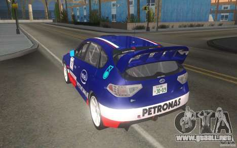 Nuevos vinilos para Subaru Impreza WRX STi para vista inferior GTA San Andreas