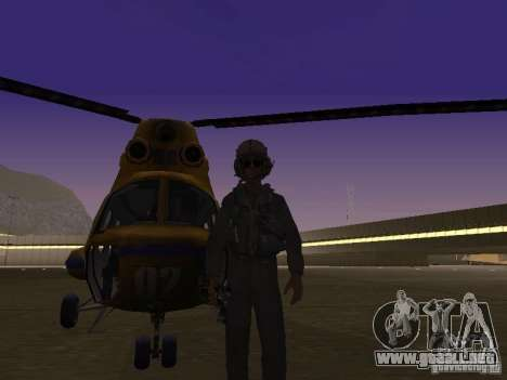 Policía mi-2 para GTA San Andreas left