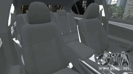 Lexus GS350 2013 v1.0 para GTA 4 vista interior