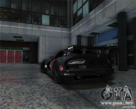 SRT Viper GTS-R V1.0 para la visión correcta GTA San Andreas