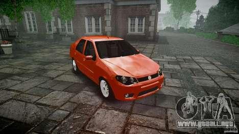 Fiat Albea Sole para GTA 4 vista hacia atrás