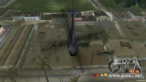 Maverick Bell-Huey para GTA Vice City vista posterior