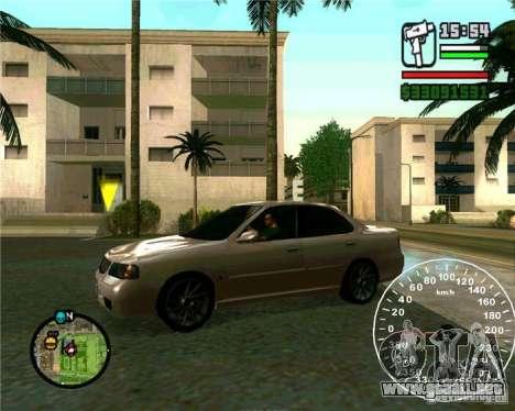 Nissan Sunny para GTA San Andreas left