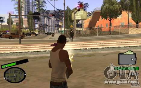 Nuevo HUD para GTA San Andreas tercera pantalla
