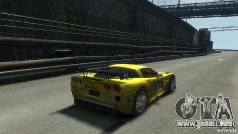 Chevrolet Corvette C6-R para GTA 4 left